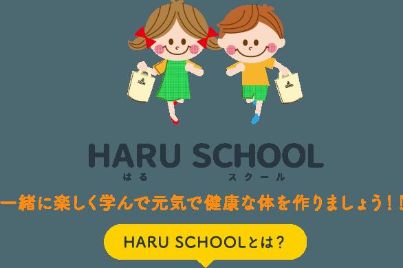 HARU SCHOOL はるスクール HARU SCHOOLとは?